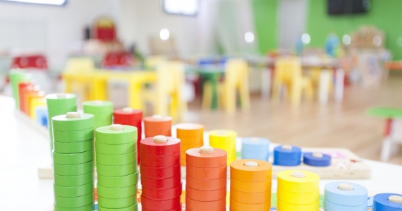 New 3-6 year old children's classroom